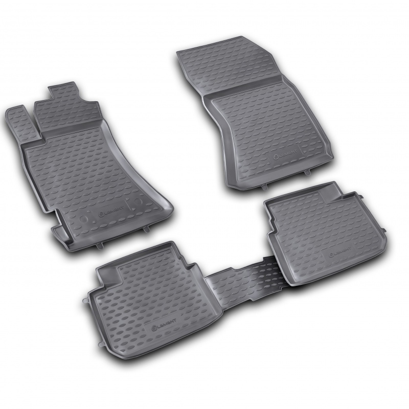 For Subaru Forester 2.5 XT 2008-2013 car floor mats carpets auto floor mat dustproof car styling interior decoration protection
