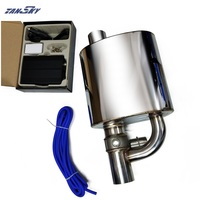 Exhaust Muffler with Dump Valve Electric Exhaust Cutout Remote Control Set Size: 2/2.25/2.5/2.75/3 EPQDMF