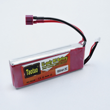 Taotuo Lithium LiPo Battery 11.1V 1800MAH 3S 25C For Rc FPV Helicopter Quadcopter Dron Airplane Truck Boat Toy Part Bateria Lipo