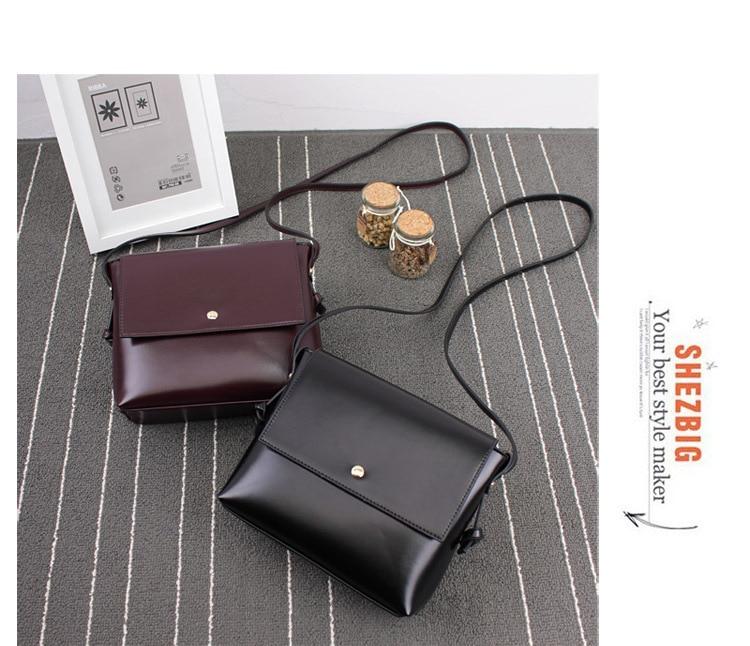 069d94b841df ᗑKorean Retro Mori Girl Japanese Shoulder Bag Simple Messenger Bag ...
