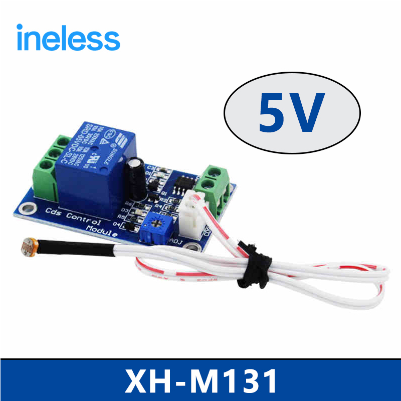 XH-M131   5V  photoresistor module photoelectric sensor light sensor light control switch light detection dc 12v photoresistor module relay light detection sensor light control switch l057 new hot page 8