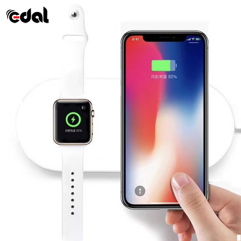 Mini Ai Power Disk font b Wireless b font Charging Pad Plate Support for Apple And
