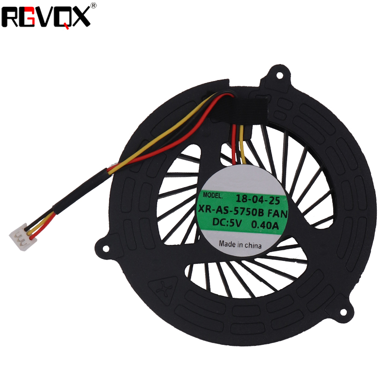 Купить с кэшбэком New Laptop Cooling Fan For Acer Aspire 5350 5750 5750G 5755 5755G P5WE0 V3-571G Round PN AD09005HX10G300 KSB06105HA CPU Cooler