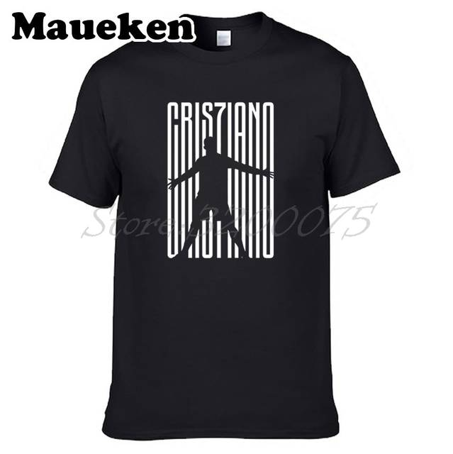 d994bffeabe Online Shop Men Cristiano Ronaldo 7 CR7JUVE Welcome To T-shirt CR7 JUVE  Clothes T Shirt Men s tshirt tee W18070601