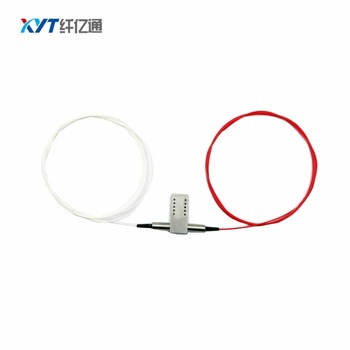 1x2 Mechanical Optical Switch 1260~1650nm 5V Non-Latching with fc/upc connector fiber optic switch