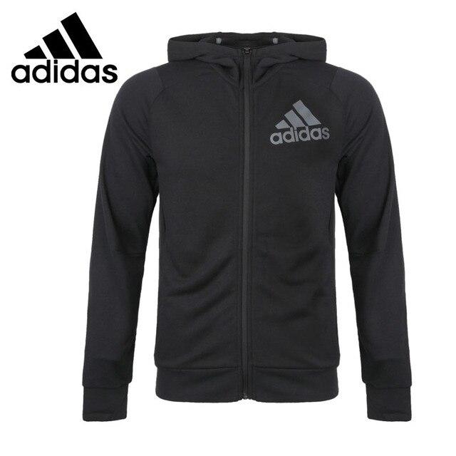 0fb91256 Оригинальный Новое поступление Adidas крутая кофта с капюшоном для мужчин  куртка с капюшоном Спортивная