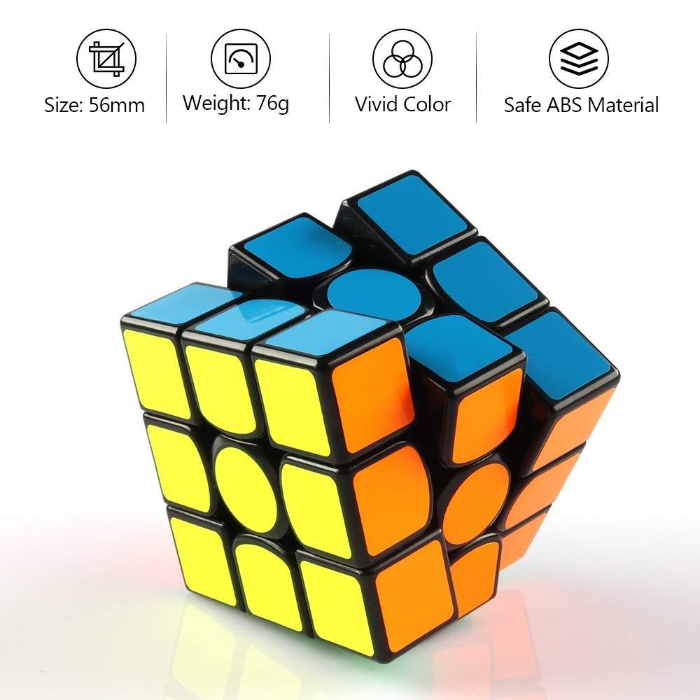 D-fantix Gan 356 Air SM Cube magnétique Gan356 3x3x3 Gans Cube vitesse 3x3 Puzzle jouets pour compétition professionnelle - 4