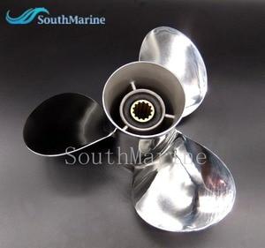 Image 1 - Hélice de aço inoxidável 11 1/8x13 g para popa yamaha 40hp 50hp 11 1/8x13 g