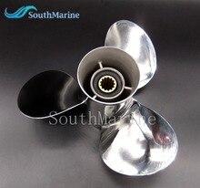 Hélice de acero inoxidable 11 1/8x13 G para fueraborda Yamaha 40HP 50HP 11 1/8x13 G