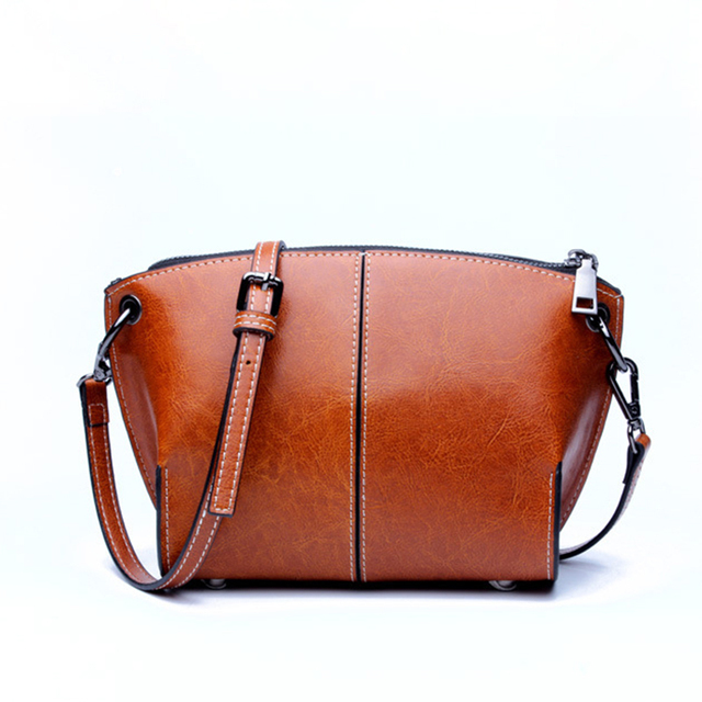 Luxury Leather Handbags for Women Crossbody Shoulder Bags Designer Small Clutch Purse Bag Female Cowhide Messenger Bags Ladies