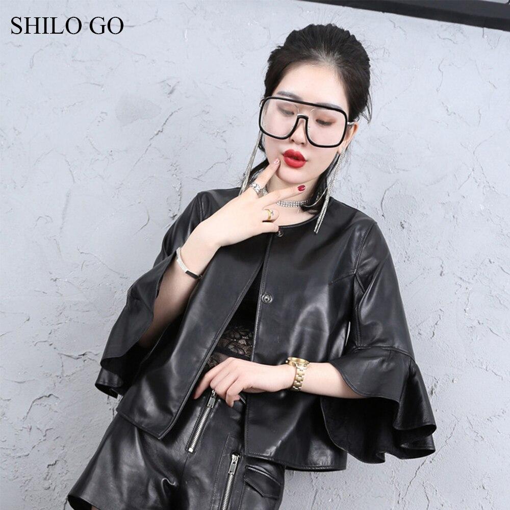 Куртка SHILO GO женская, весенняя, из натуральной овчины