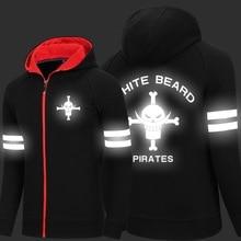 New One Piece Hoodie Monkey D Luffy Trafalgar Law Roronoa Zoro Winter Fleece Mens Sweatshirts Free Shipping