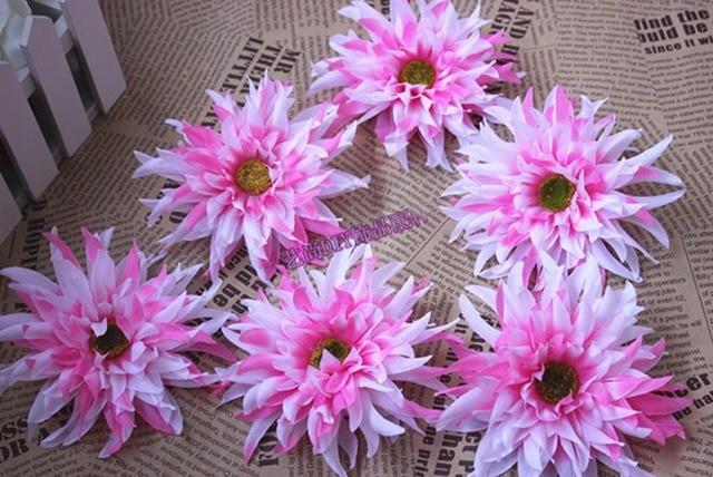 20pcs13cm large fabric artificial silk chrysanthemum headsdiy for 20pcs13cm large fabric artificial silk chrysanthemum headsdiy for hatshair brooch mightylinksfo