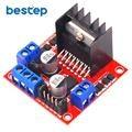 L298N puente H doble DC controlador de Motor paso a paso de módulo para Uno R3 Raspberry Pi de DIY Kit