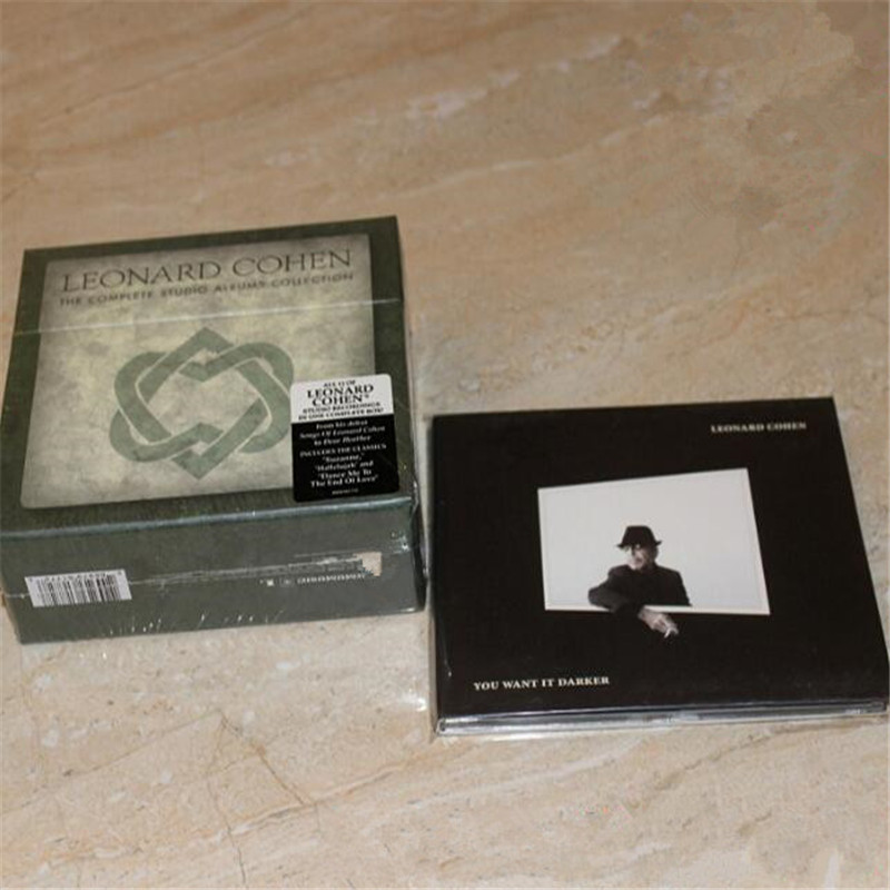 TF-01 new CD seal: Leonard Cohen Box plus ou Want It Darker total 12CD light disk [free shipping]