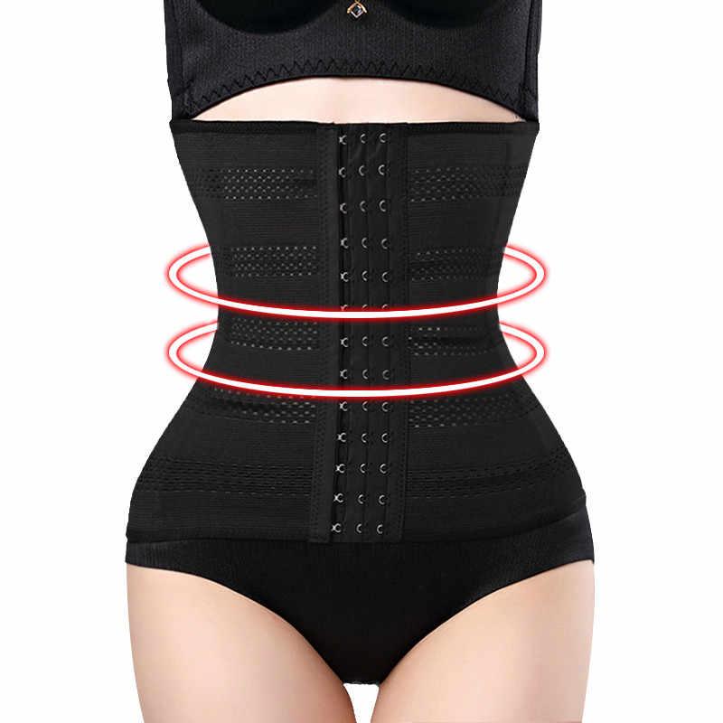 62dabfce72b Shapers Waist Trainer for Women Body Modeling Belt Hot Shaper Corset  Postpartum Slimming Belly Band Slim