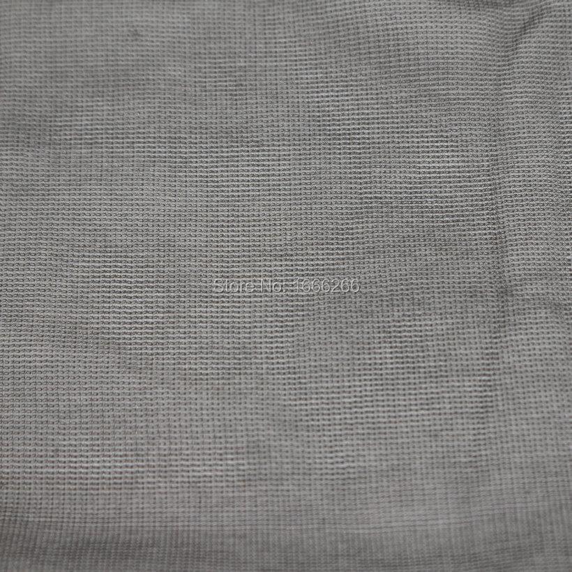 Block EMF Shielding Canopy Silver Fiber Fabric For Home Textile