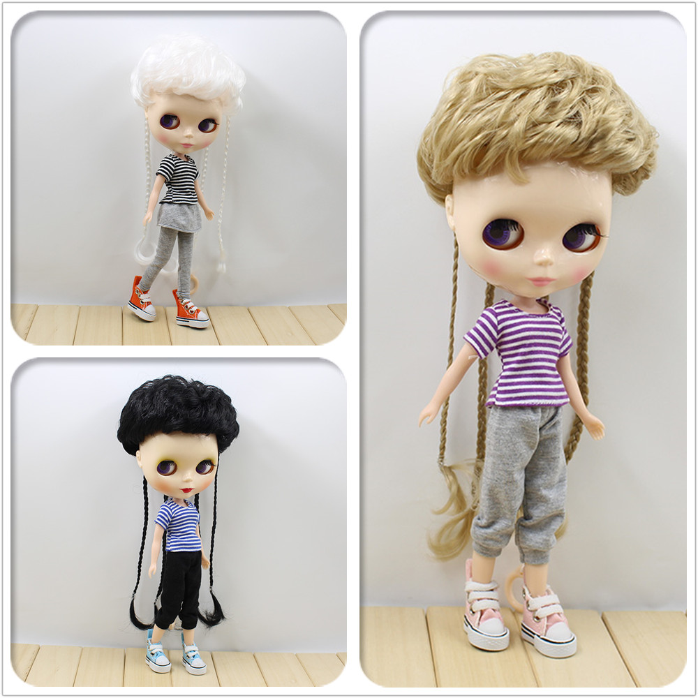 Free shipping Nude Doll For Series Doll THREE KINDS OF COLOR HAIR White Skin Suitable For DIY Change Toy For Girls все цены
