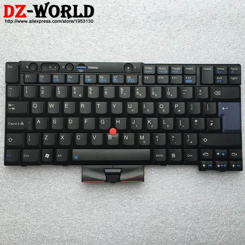 New Original for IBM Lenovo Thinkpad X220 X220i X220 Tablet Keyboard Teclado UK English 45N2100 45N2240 45N2170 45N2065 new us laptop keyboard for ibm lenovo thinkpad edge e430 e435 e330 e430c e430s e445 e335 s430 keyboard