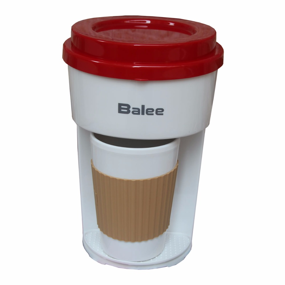 Small coffee machine Balee american-style drip coffee maker office personal special cup Mini small portable system convenient household fully automatic coffee maker cup portable mini burr coffee makers cup usb rechargeable capsule coffee machine