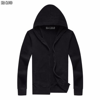 82 Plus size Autumn men's clothing sweater male with a hood thin cardigan turn-down collar men sweater male M-6XL