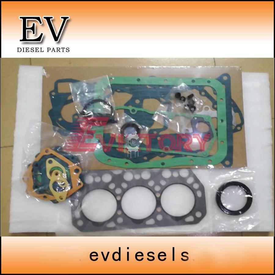 Für Mitsubishi K3N rebuild kit kolben ring + lager + dichtung kit-in Kolben, Ringe, Stäbe & Teile aus Kraftfahrzeuge und Motorräder bei