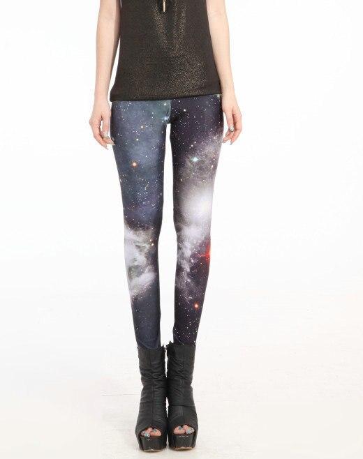 Women Black Leggings Milk Shiny Supernova Sale Leggings Fitness Drop Shipping