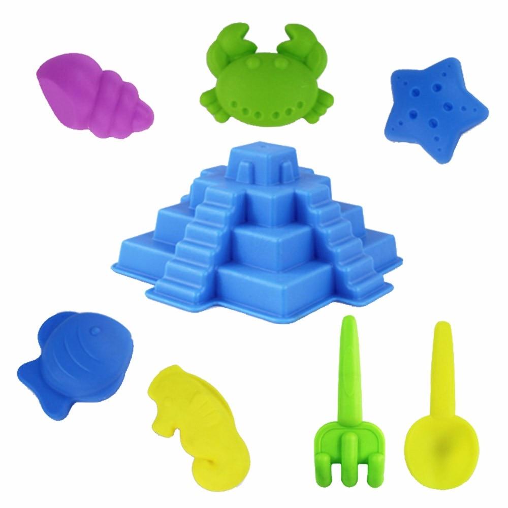 Pools & Wasserspaß Modestil 8 Stücke Kinder Strand Sand Spielzeug Werkzeug Set Modelle Sandstrand Werkzeuge Outdoor Spielen Spielzeug Strand Schloss Wasser Werkzeuge Spielzeug Sand Spiel A889 Großhandel Strand/sand-spielzeug