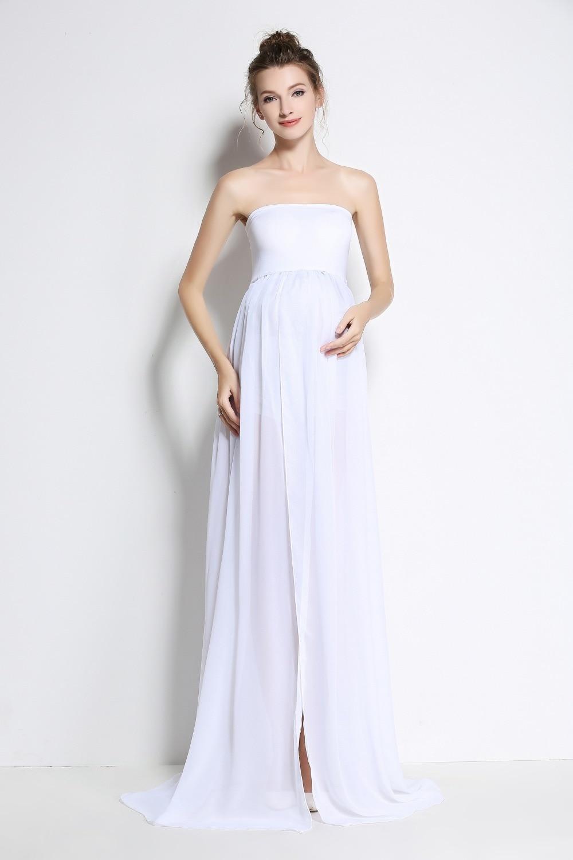 Plus Size Maternity Dresses White - raveitsafe