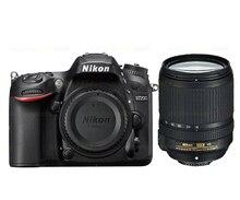 ใหม่Nikon D7200กล้องดิจิตอลSLRและAF-S DX 18-140มิลลิเมตรED VRเลนส์ชุดสีดำ