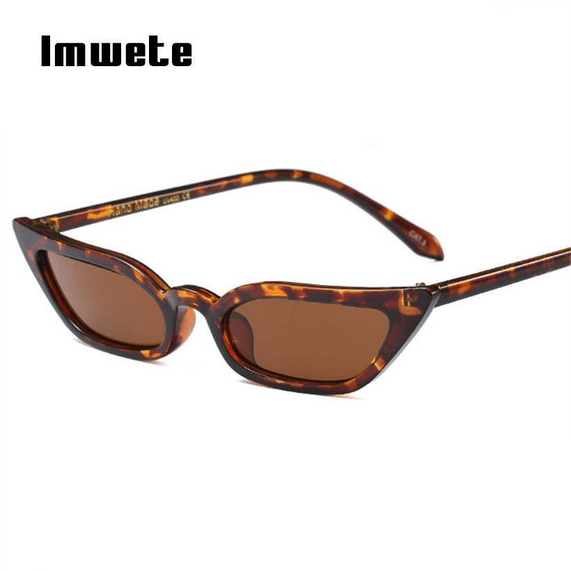 fa945bcaa6 Imwete Cat Eye Sunglasses Women Vintage Brand Designer Sun Glasses Black Red  Eyewear ladies Sunglass Female