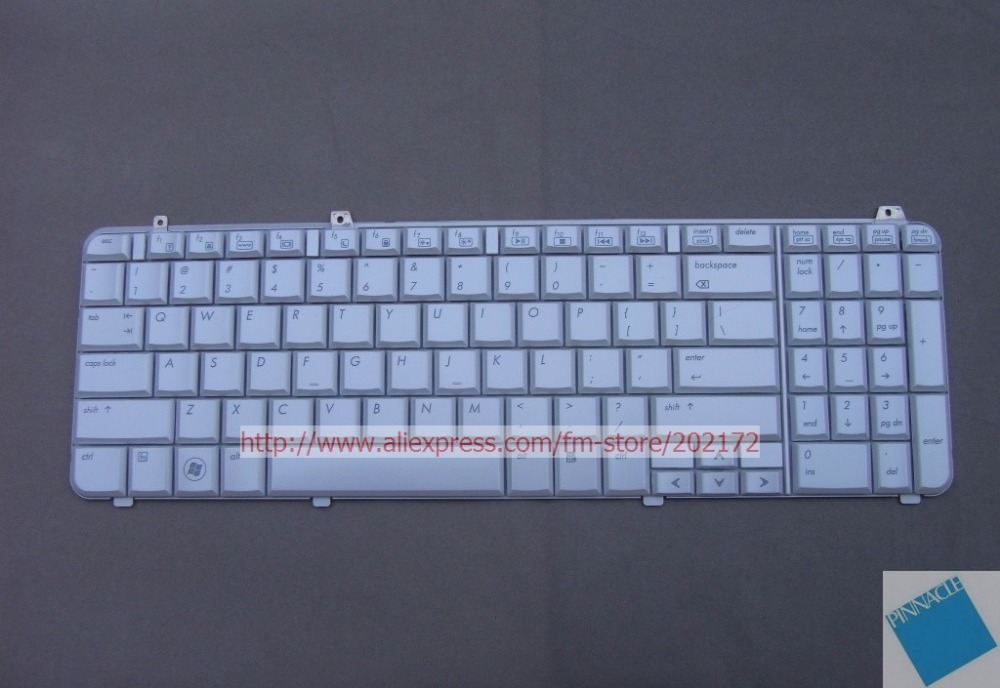 все цены на Brand New White  Laptop  Notebook Keyboard  517863-001  573047-001 AEUT3U00060 For  HP Pavilion DV6 series US онлайн
