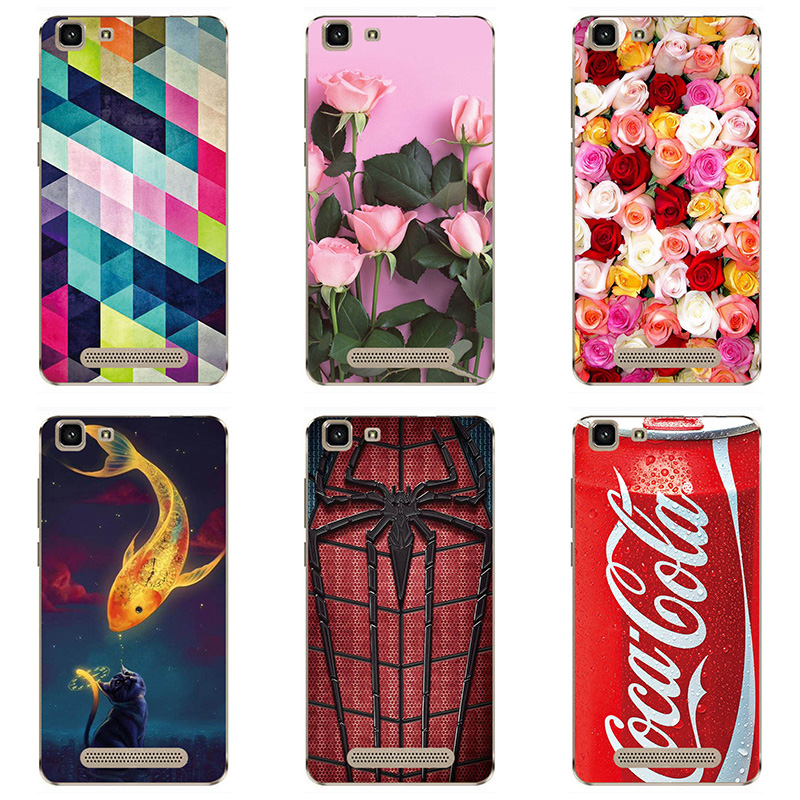soft tpu phone case colour Mobile phone shell For Cubot Rainbow Soft silicon Phone Case colorful painting skin shell
