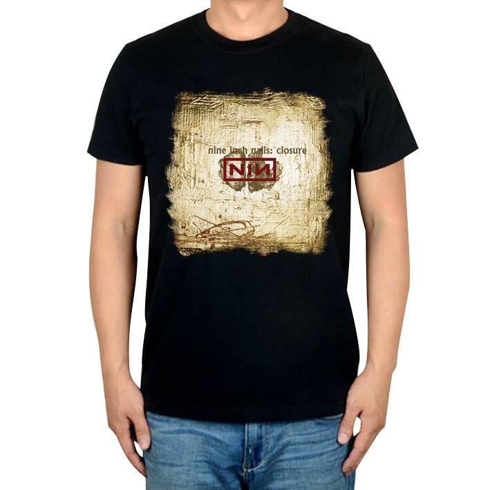 6 designs Nine Inch Nails NIN Rock band mens women clothing shirt ...