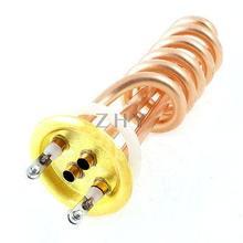 220 В 3000 Вт 3KW Спираль Электрический Водонагреватель Нагревательный Элемент Нагревателя
