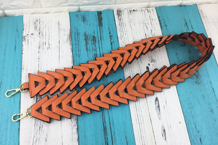 Alças Coloridas Para Bolsas Modelo Trançada