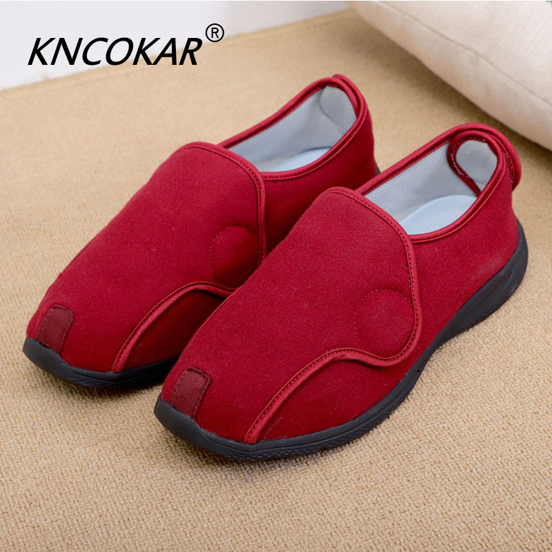 HOT Foot Is Puffy Shoes Styles For Men And Women Of Hallux Valgus Foot Wide Valgus Shoes Nurse Shoes Senile Diabetes
