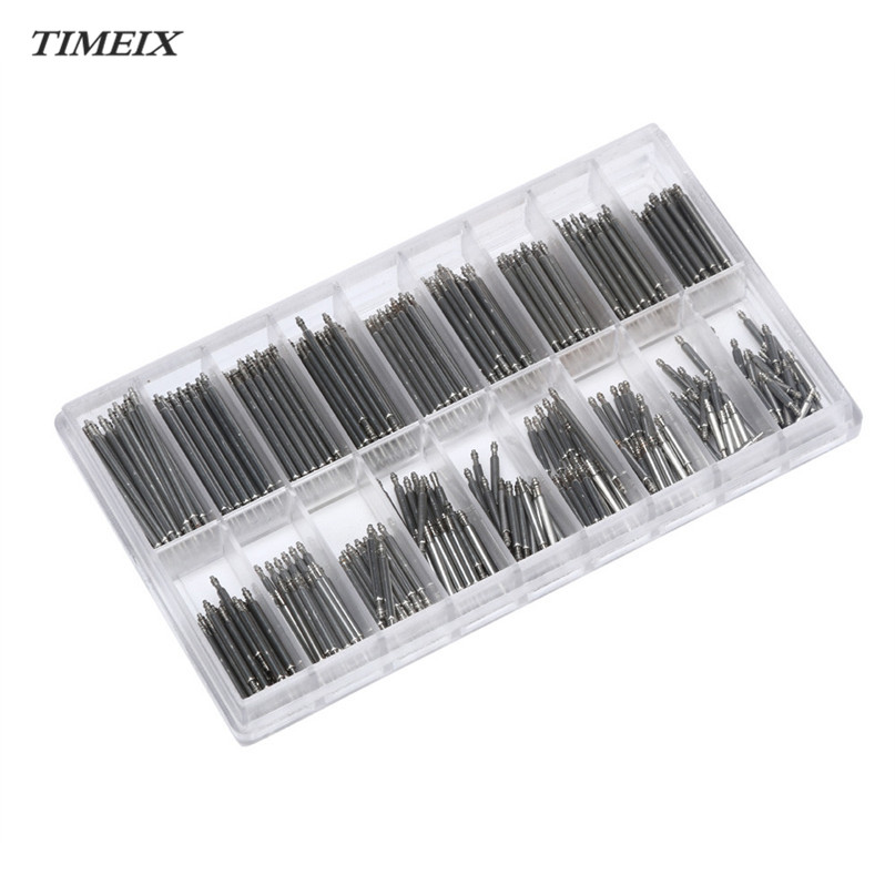 8-25mm Watch Band Spring Bars Strap Link Pins Repair Watchmaker Link Pins Remove Tools Wholesale & Free Shipping,Dec 5*40 360pcs 8 25mm watch band spring bars strap link pins repair watchmaker tools stainless steel for women men watch double flange