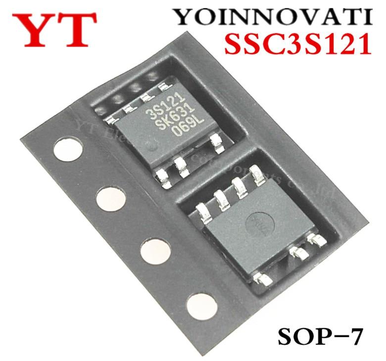 10pcs/lot SSC3S121 SSC3S121 TL 3S121 SOP7 IC Best qualityIntegrated Circuits   -