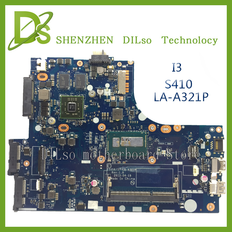 KEFU LA-A321P motherboard For Lenovo ideapad S410 LA-A321P laptop motherboard S410 with i3 cpu  mainboard Test KEFU LA-A321P motherboard For Lenovo ideapad S410 LA-A321P laptop motherboard S410 with i3 cpu  mainboard Test
