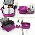 Alta Calidad Japonesa Bento Lunch Box w/Sopa de Taza De Agua y Totalizador Del Almuerzo con aislamiento Bolsa Lonchera Microondas De Plástico Envase de Alimento OK
