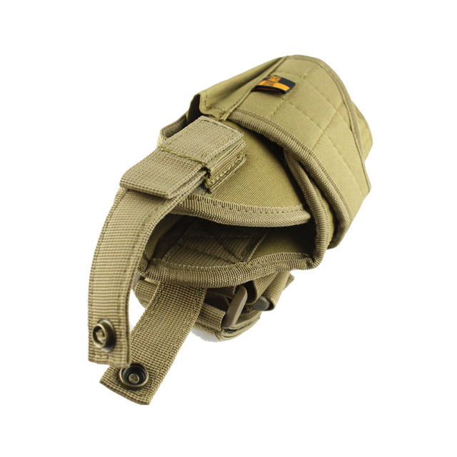 Adjustable  Military Airsoft Holster Hunting Tactical Pistol Drop Leg Holster Thigh Gun Holster for right hand  3