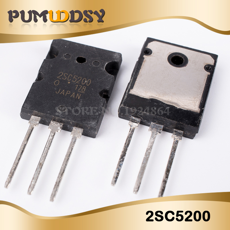 5PCS  2SC5200 SC5200 TO-3PL 5200  New And Original IC
