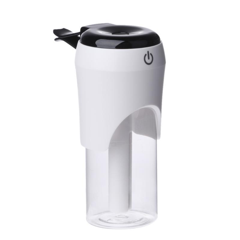2 In 1 Fashionable Car Air Humidifier Diffuser Mini 50Ml Essential Oil Ultrasonic Aroma Mist Purifier Dual USB Charger