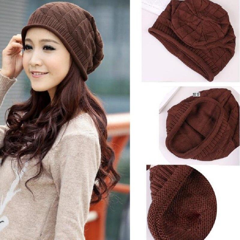 Lovely Fashion Gorro Coreano Outono Inverno Quente Chapéu Boina trançado  Baggy Hat Touca Toca Bonnet Cap Gorro Gorros Para homens em Skullies    Gorros de ... 819bfa5b14bbb