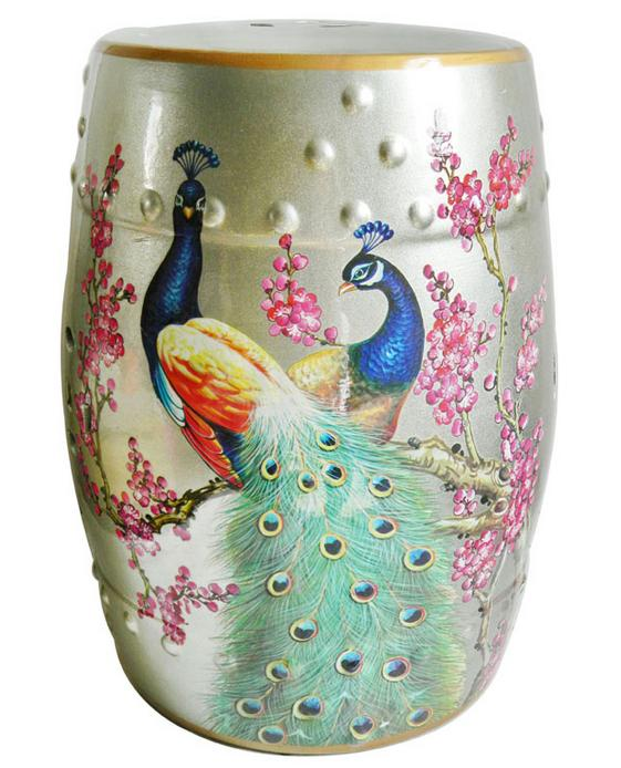Incredible Us 269 0 Chinese Ceramic Peacock Garden Stools Seat For Indoor Home Decoration Chinese Art Porcelain Stool In Stools Ottomans From Furniture On Pabps2019 Chair Design Images Pabps2019Com