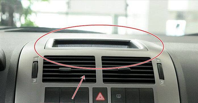 US $39 89 |Genuine Volkswagen Dashboard Storage Tray Instrument Panel  Debris Box With Cover For VW Polo 9N POLO 6Q0 857 465 A 6Q0857465A on
