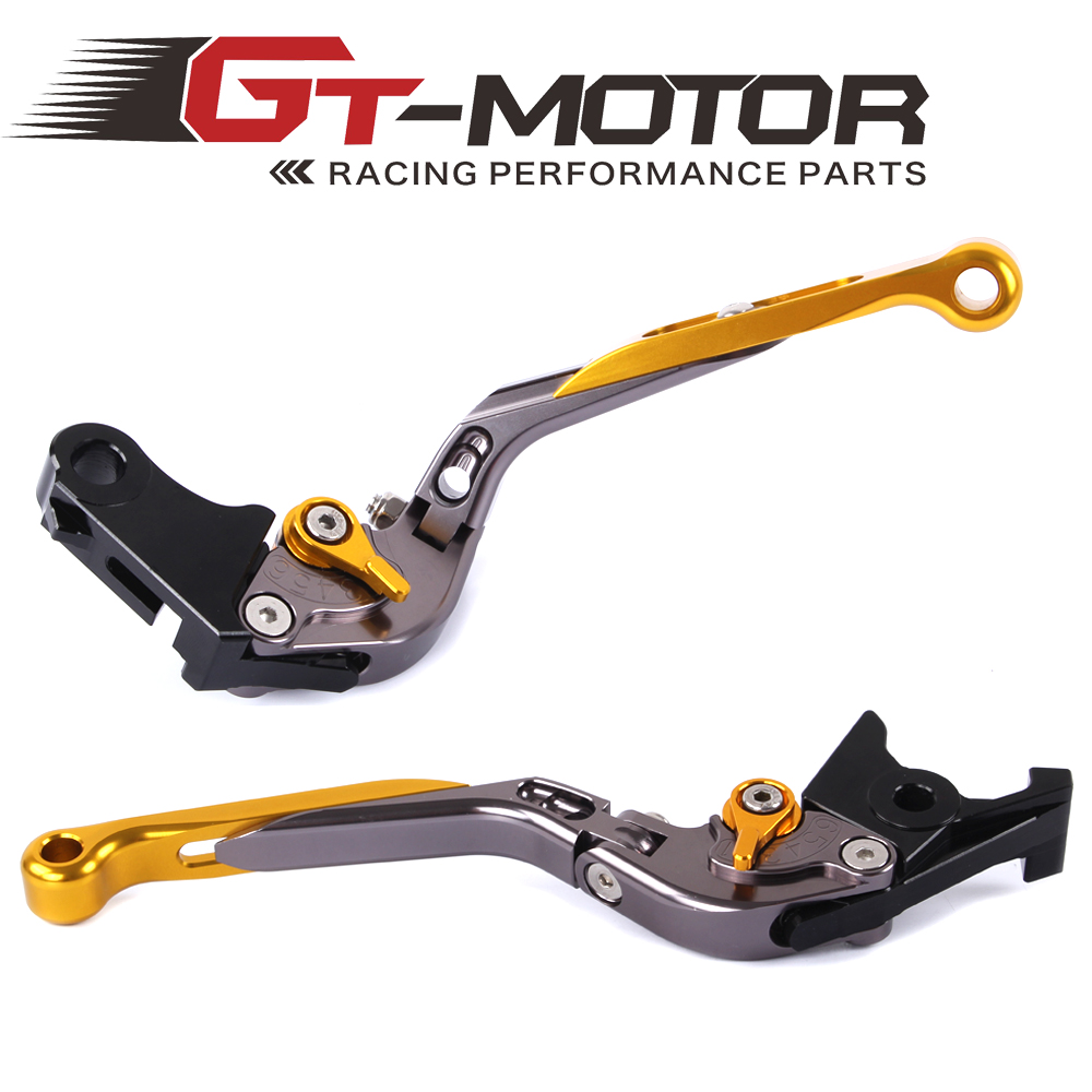GT Motor - F-18/H-626 Adjustable CNC 3D Extendable Folding Brake Clutch Levers For HONDA CBR 600 F2 F3 F4 F4I 1991-2007