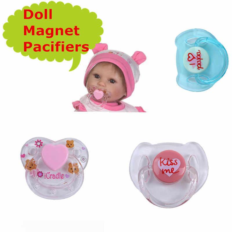 Подходит для 40-55 см Reborn Baby Doll магнит соска/пустышка магнит соска хорошая цена кукла аксессуары Reborn для новорожденных