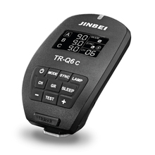 JINBEI TR-Q6 C TTL  Bluetooth Radio Trigger For Canon